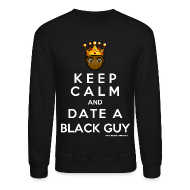 Long Sleeve Shirts ~ Crewneck Sweatshirt ~ KEEP CALM SWEATER