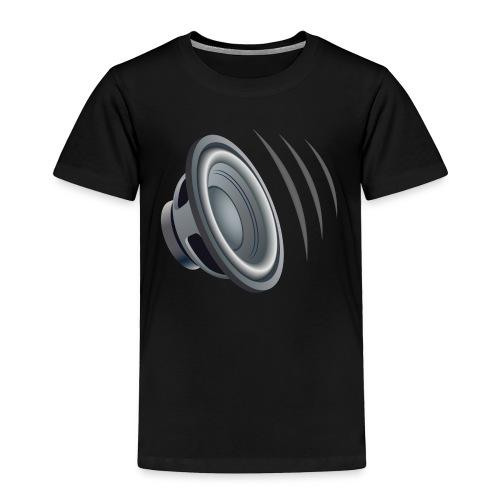 SPEAKER EMOTICON - Toddler Premium T-Shirt