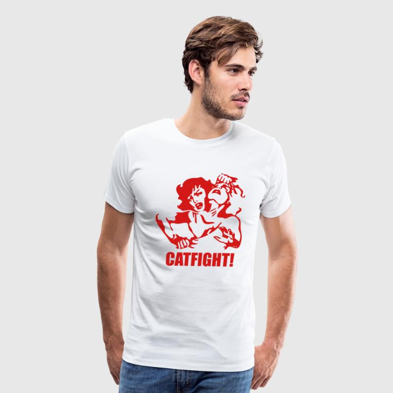 Catfight T-Shirts - Men's Premium T-Shirt