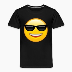 SMILEY FACE EMOTICON Baby & Toddler Shirts