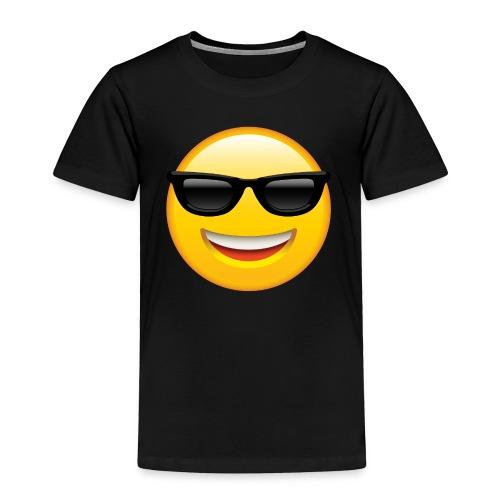 SMILEY FACE EMOTICON - Toddler Premium T-Shirt