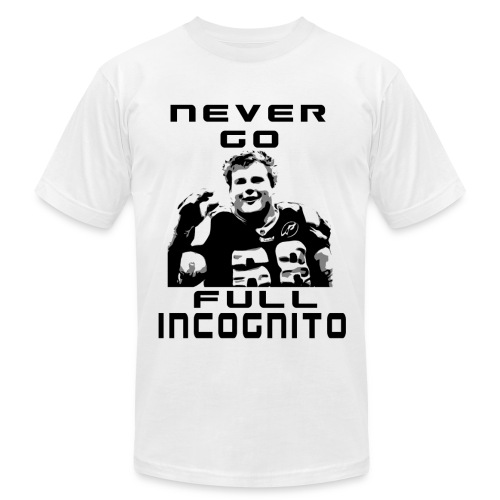 Incognito v01 - Men's  Jersey T-Shirt