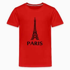 Paris - Eiffel Tower Kids' Shirts