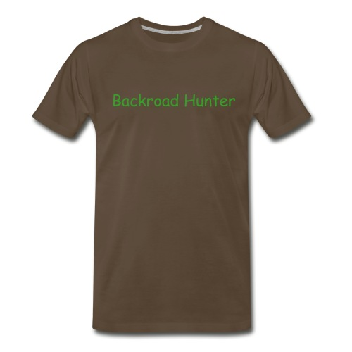 Backroad Hunter - Men's Premium T-Shirt