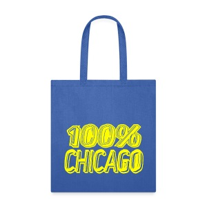 100% Chicago - Tote Bag