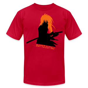 Battojutsu Kenshin ~ Red ♂ - Men's T-Shirt by American Apparel