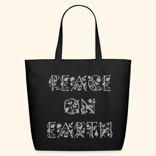 Peace on Earth - Eco-Friendly Cotton Tote