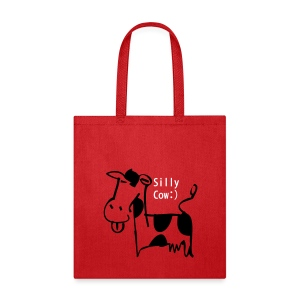 silly cow - Tote Bag