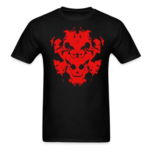 Inkblot Red - Men's T-Shirt