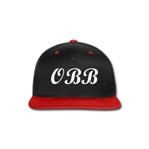 OBB Snapback Hat-#OBB Collection - Snap-back Baseball Cap