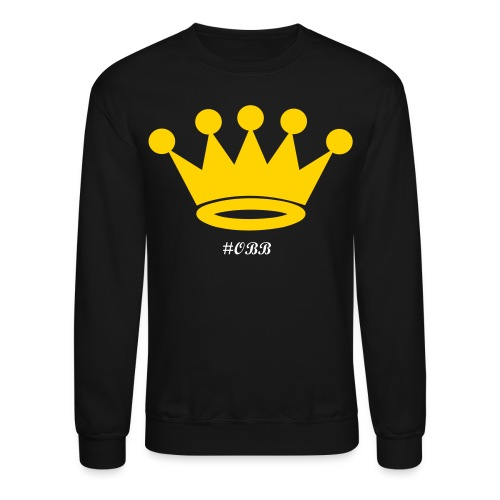 OBB Crown Sweater- #OBB Collection - Crewneck Sweatshirt