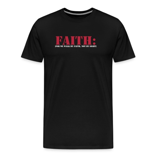 Men's Premium T-Shirt - religon,prayer,faith,church,bible