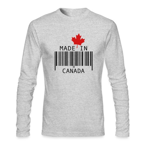 Made in Canada Men's Longsleeve T - Men's Long Sleeve T-Shirt by Next Level