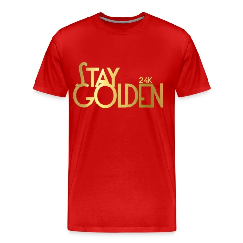 Stay Golden - Men's Premium T-Shirt