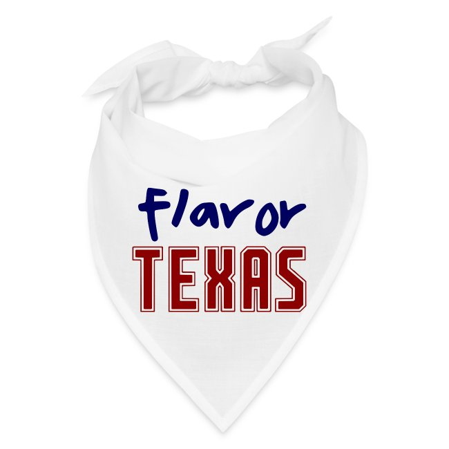 STATE YOUR FLAVOR BANDANA-TEXAS