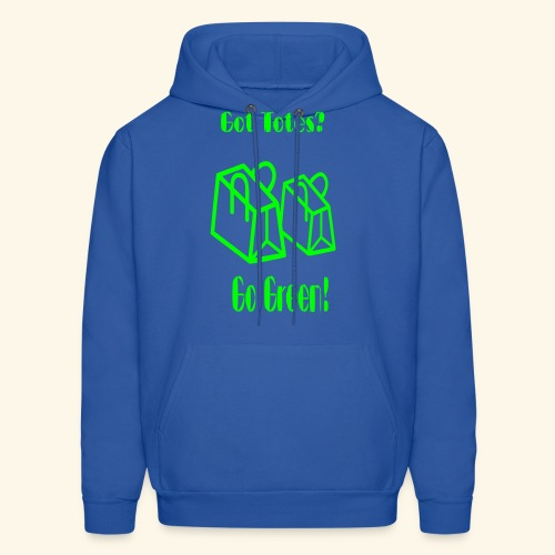 Got Totes? Go Green! - Men's Hoodie