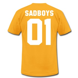SADBOYS 01 - AA T SHIRT - Men's T-Shirt by American Apparel