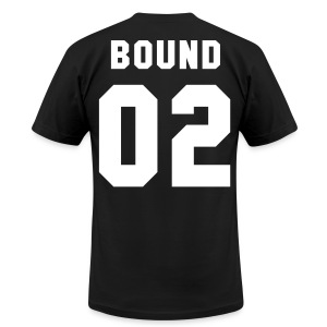 BOUND 2 - AA T SHIRT - Men's T-Shirt by American Apparel