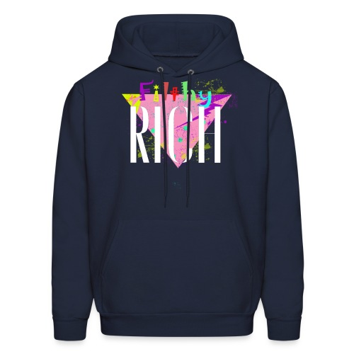Filthy Rich - Men's Hoodie