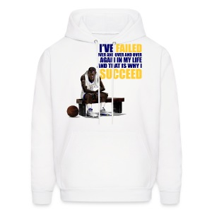 Laney 5s hoody/crewneck-Jordan V I've failed-white - Men's Hoodie