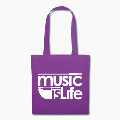 Music is Life Bags & backpacks