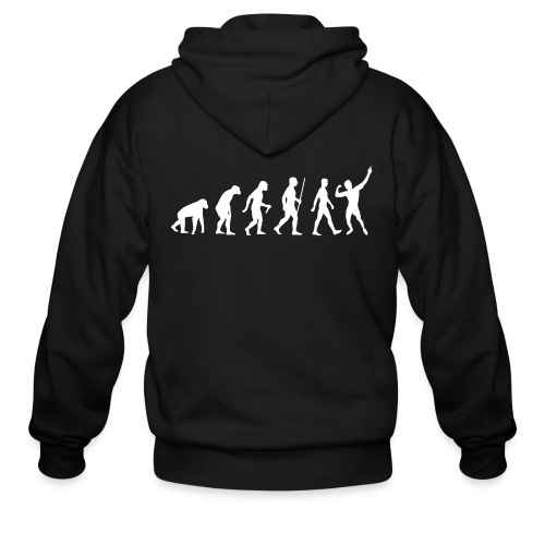 Men's Zip Hoodie Zyzz Evolution - Men's Zip Hoodie