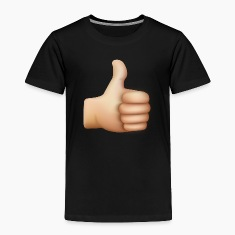 THUMBS UP EMOTICON Baby & Toddler Shirts