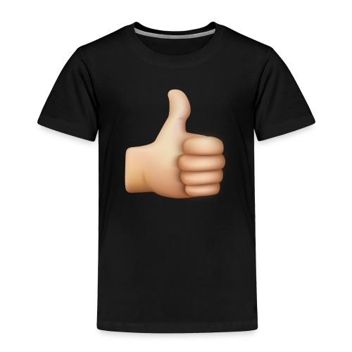 THUMBS UP EMOTICON - Toddler Premium T-Shirt