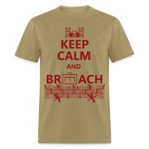 BREACH WIRE RED - Men's T-Shirt