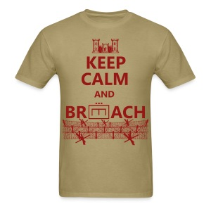BREACH WIRE RED - Men's T-Shirt