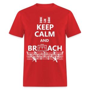 BREACH WIRE WHITE - Men's T-Shirt