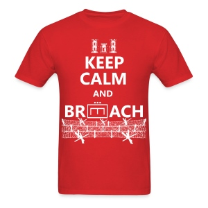 BREACH WIRE WHITE - Men's T-Shirt