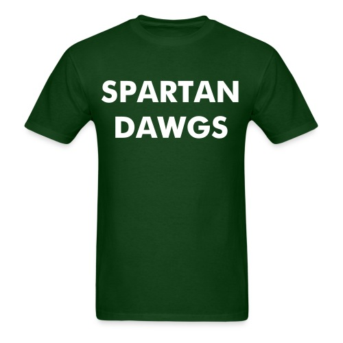 Spartan Dawgs - Men's T-Shirt