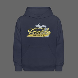 Fashionable Ferndale Michigan - Kids' Hoodie