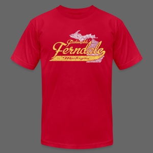 Fashionable Ferndale Michigan - Men's T-Shirt by American Apparel
