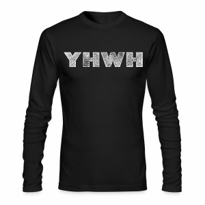YHWH - Men's Long Sleeve T-Shirt by Next Level