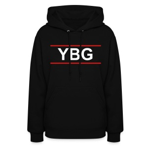 YBG Female Hoodie (Front and Back Design) - Women's Hoodie