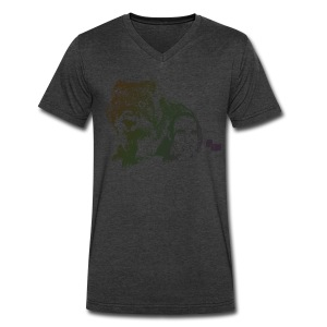 Wombat - Men's V-Neck T-Shirt by Canvas