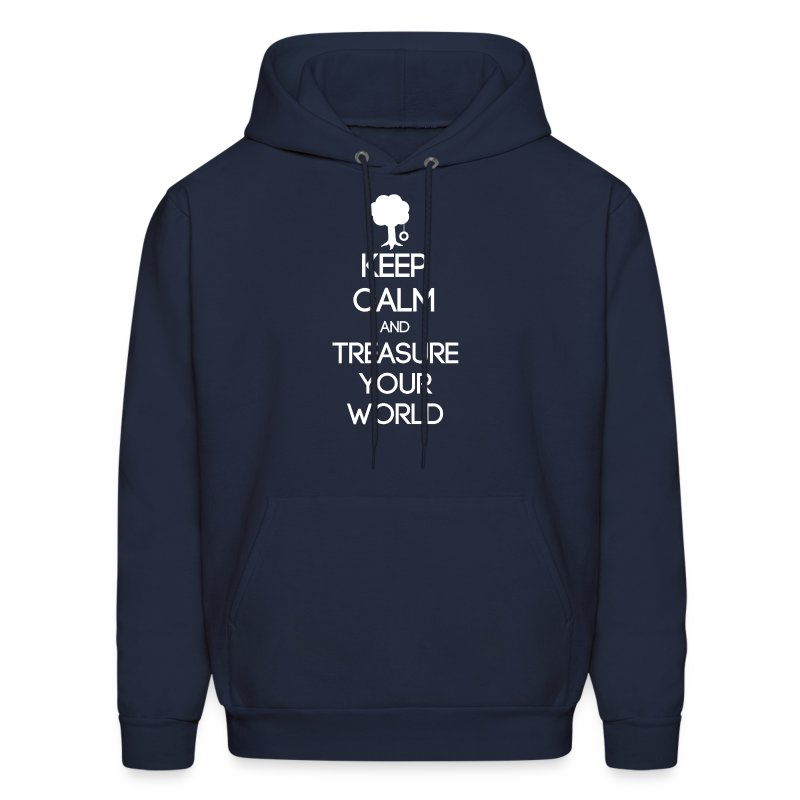 ISFP ~ Keep Calm and Treasure Your World Men's Hoodie - Men's Hoodie