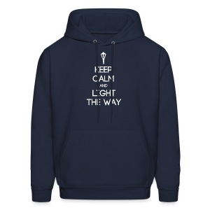 INFP ~ Keep Calm and Light the Way Men's Hoodie - Men's Hoodie