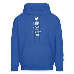 ESFP ~ Keep Calm and Party On Men's Hoodie - Men's Hoodie