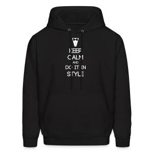 ESFJ ~ Keep Calm and Do It In Style Men's Hoodie - Men's Hoodie