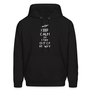 ISTP ~ Keep Calm and Stay Out of My Way Men's Hoodie - Men's Hoodie