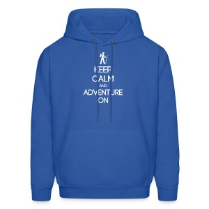 ENFP ~ Keep Calm and Adventure On Men's Hoodie - Men's Hoodie