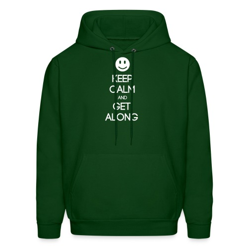 ENFJ ~ Keep Calm and Get Along Men's Hoodie - Men's Hoodie
