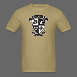 A Detroit Crest - Men's T-Shirt