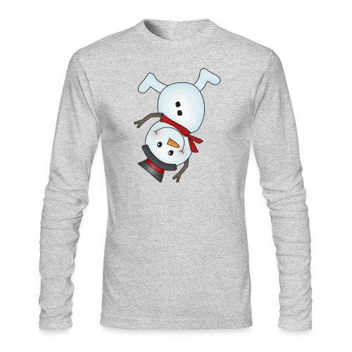 Snowman - Men's Long Sleeve T-Shirt by Next Level