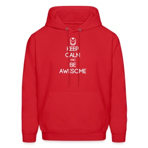 ENTP ~ Keep Calm and Be Awesome Men's Hoodie - Men's Hoodie