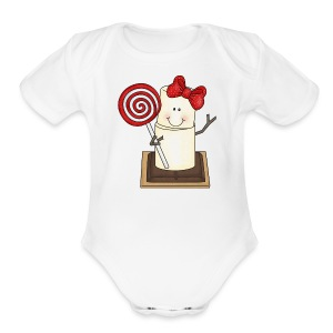 Smore   - Short Sleeve Baby Bodysuit