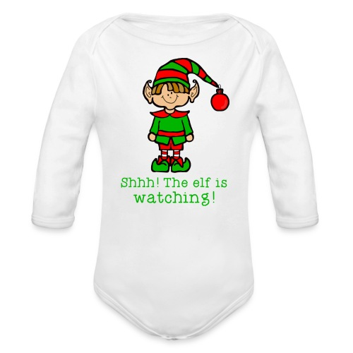 Kids Christmas Shirt - Organic Long Sleeve Baby Bodysuit